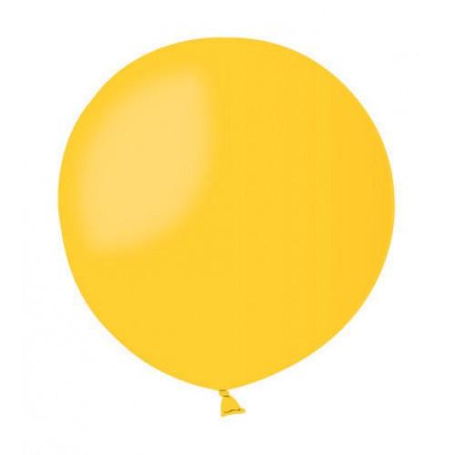 Повітряна куля без малюнка 48 см жовтий