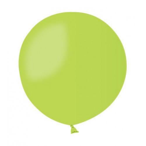 Воздушный шар без рисунка 48 см салатовый