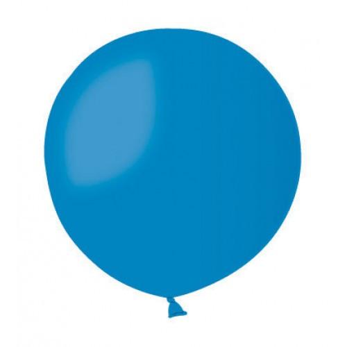 Повітряна куля без малюнка 48 см синій