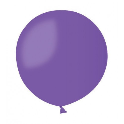 Воздушный шар без рисунка 48 см фиолетовый