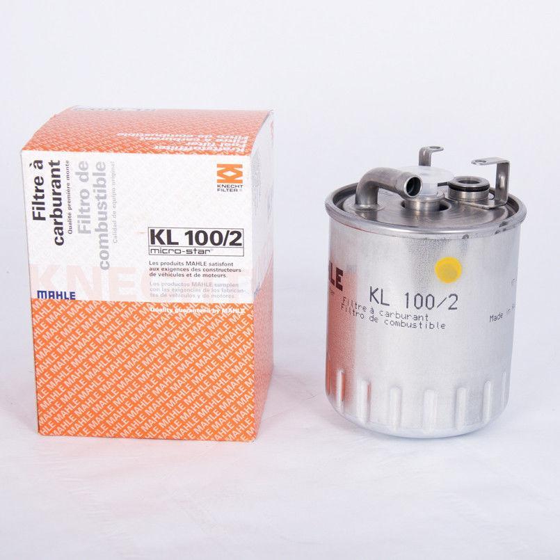Паливний фільтр на MB Sprinter CDI Knecht-Mahle KL 100/2