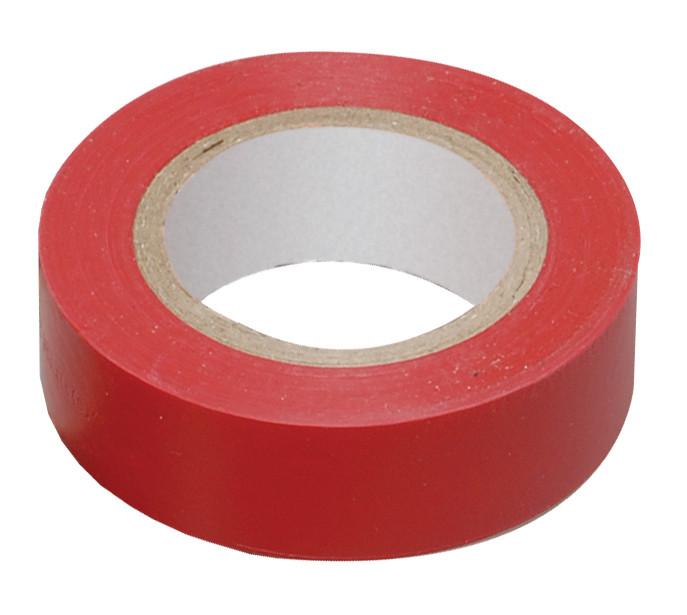 Изолента 0,13х15 мм красная 10 метров ИЭК