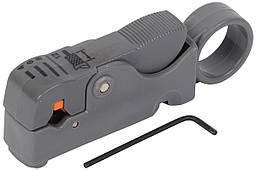 Инструмент для зачистки и обрезки коакс кабеля