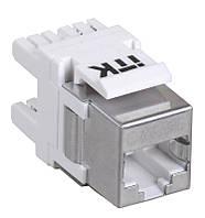 Модуль Keystone Jack кат.5E FTP, IDC Dual, верт. зад.
