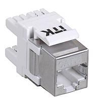 Модуль Keystone Jack кат.6 FTP, IDC Dual, верт. зад.