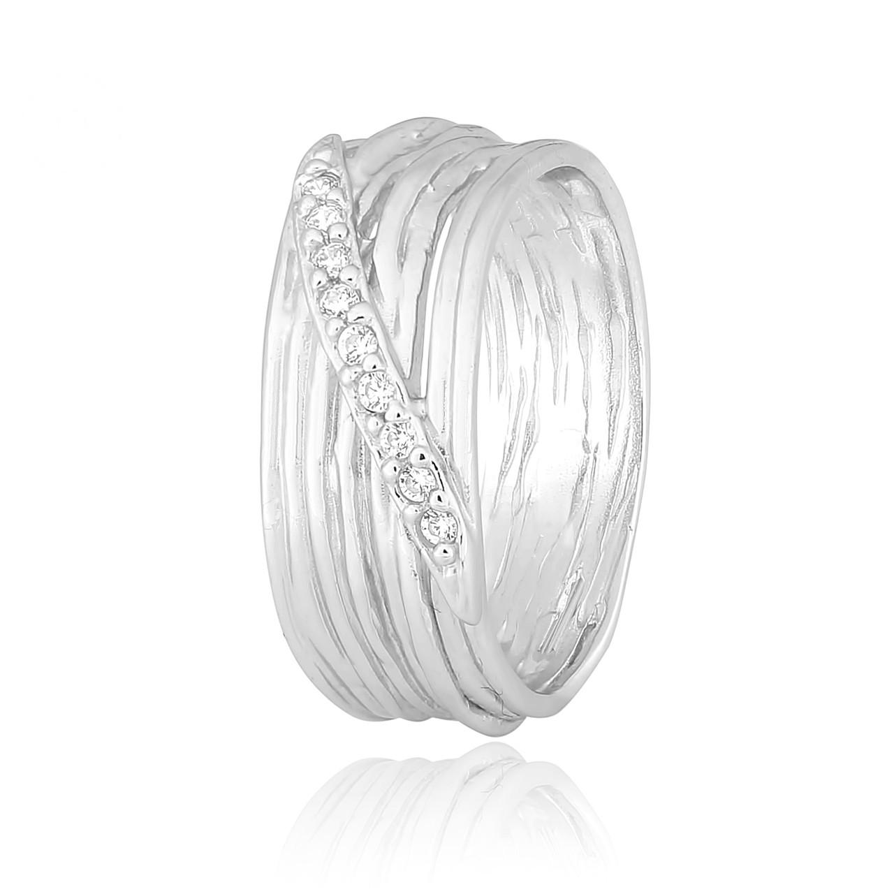 """Серебряное кольцо с камнями """"446"""""""