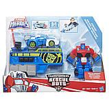 Трансформер Оптимус прайм Playskool Heroes Transformers Rescue Bots Optimus, фото 2
