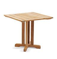 Обеденный стол Quadro из тика 80х80 см, фото 1