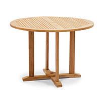 Обеденный стол Andria из тика Ø 110 см, фото 1
