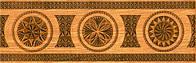 Керамическая плитка фриз бордюр LECCE