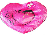 Подушка Мягкая Говорящее Сердце Подарок на День Влюбленных