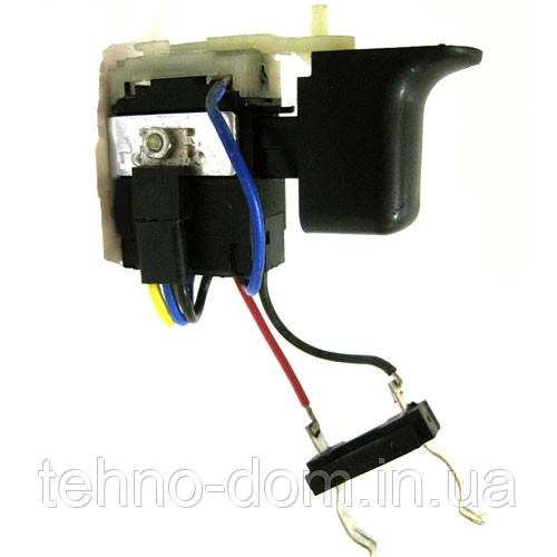 Кнопка-выключатель шуруповерта Einhell 18V (каблук)