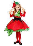 Красный Мак карнавальный костюм детский