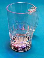 Оригинальный Сувенир Светящийся Бокал Кружка Led Light Flashing Прикол для Вечеринки