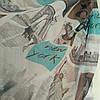 Тюль шифон рисунок Ню йорк