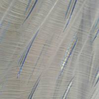 Тюль белая голубой дождик