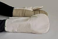Рукавицы антивибрационные ХБ + брезент – элемент спецодежды защищающий руки от ушибов, уменьшая вибрацию исход