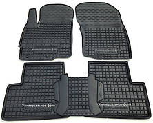 Коврики в салон Volkswagen Caddy 3 2013 -> черный, кт - 4шт