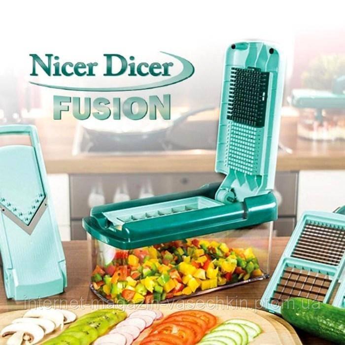 Овощерезка nicer dicer fusion найсер дайсер фьюжн купить