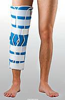 Жесткая шина для ноги с 5-тью металлическими ребрами жесткости ТУТОР-3Н reabilitimed(цена от размера)