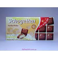 Шоколад Шогетен Ванильные вафли Schogetten Vanilla Wafer 100г