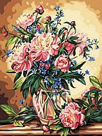 Картина по номерам Роскошные пионы КНО081 Идейка