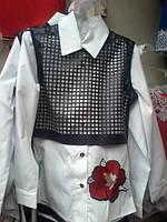 Рубашка двойная,140,146,152,158 р-ры.