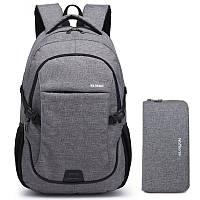 Рюкзак WH серый модель K70, фото 1