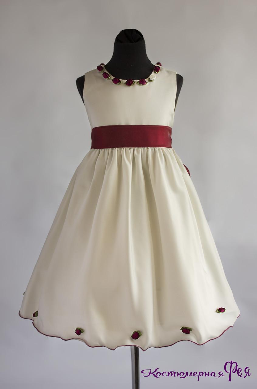 Детское нарядное платье (артикул 2/114)