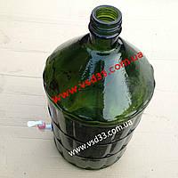 Бутыль 22 литра с краном.