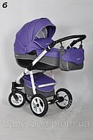 Универсальная коляска 2 в 1  для новорожденных RIKO nano ALU