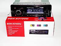 Автомагнитола Pioneer DEH-X3100U - USB+SD+FM+AUX, фото 1