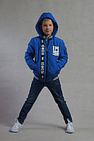 Демисезонная курточка для мальчика Али синяя