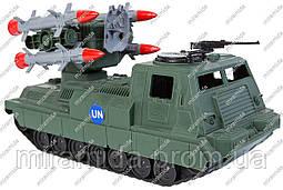 Игрушечная ракетная установка