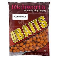 Бойлы Richworth Euro Baits New 1кг 15мм Plum Royal