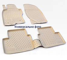 Коврики в салон Infiniti FX 35/45 (S50) (03-08) (полиур., компл - 4шт) цвет бежевый.