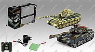 Танковый бой на радиоуправлении «Бой танков»
