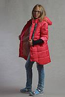 Коралловая детская курточка Азиза