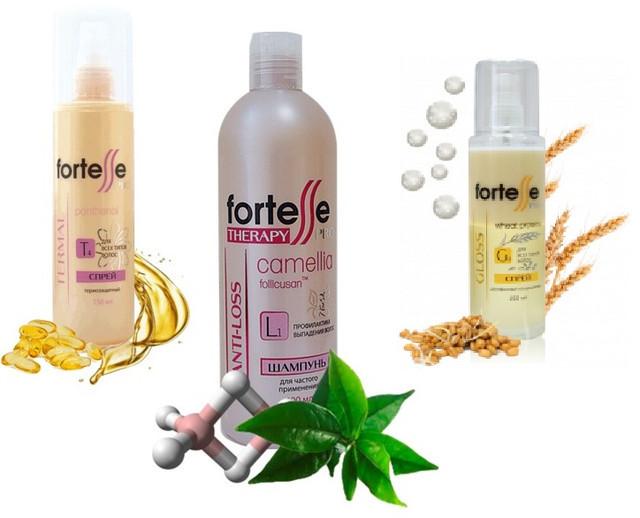 Дополнительный уход для волос Fortesse PRO