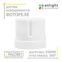 Датчик освещенности фотореле (фотоэлемент) день-ночь 5500W 25A IP44