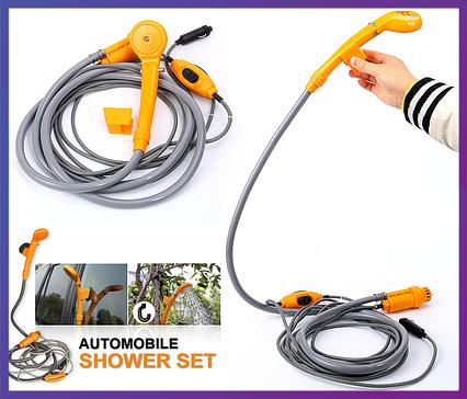 Автомобільний душ, душ туристичний, автодуш, Automobile Shower Set, фото 2