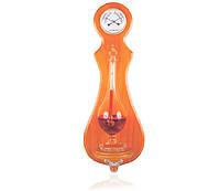 Настенный барометр гете Bratfishing + термометр + гигрометр /44см