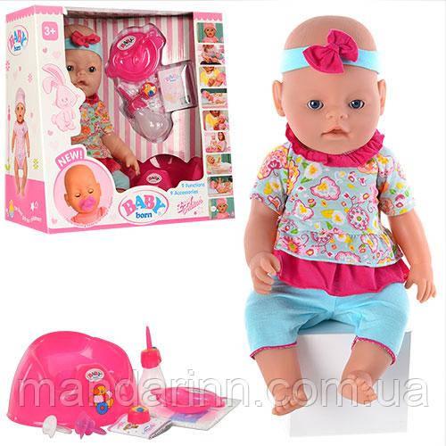 Кукла-пупс Baby Born, Оригинал, девять функций. BB 8001-8.