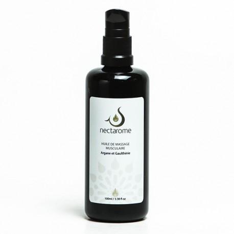 Масло массажное для мышц и суставов аргания + гаултерия   Nectarom