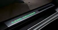 Накладки на пороги для Toyota Land Cruiser 200 Новые Оригинальные