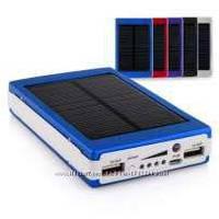 Solar Power Bank 15000 mAh 2USB ліхтарик