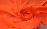 Подкладка нейлон оранжевая ткань
