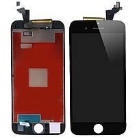 Дисплей (экран) для iPhone 6S Plus (5.5) айфон + тачскрин, цвет черный, копия высокого качества