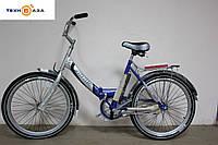 """Велосипед ARDIS FOLD СК 24"""" рама 17"""" серо-синий"""