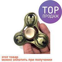 Spinner спинер spinner игрушка крутилка металл Iron Man / оригинальные подарки